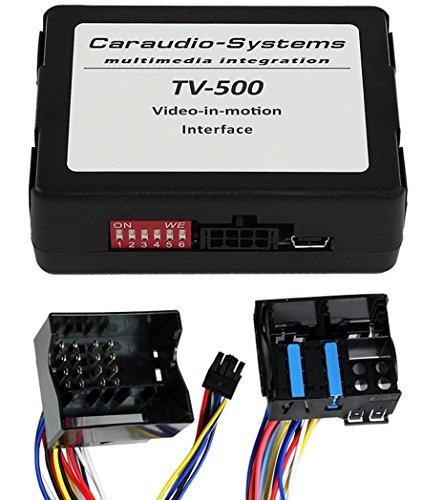 Caraudio-Systems TF-PCM31 Video Freischaltung passend für Porsche mit PCM 3.0, PCM 3.1 Navigationssystem Cayenne E1/E2, 911 (997), 911 (991) schwarz/silber