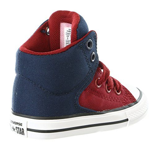 Converse Kids CTAS High Street-Hi-Soar-K Obsidian/Red/Blue