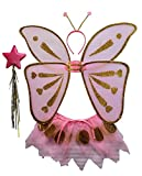 Rubies 6 13615  - Schmetterling-Set Kind