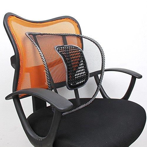Neilyn Mesh Stuhl Relief Lendenwirbelsäule Rückenstütze Unterstützung Auto Kissen Büro Home Sitz Stuhl Lenden Rücken Sommer Sitzkissen Cool