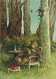 Postkarte A6 • 34753 ''Lunchtime'' von Inkognito • Künstler: Rudi Hurzlmeier • Satire • Fantastik