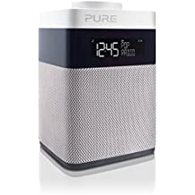 Pure POP Mini Radio (DAB/DAB+ Digital- und UKW-Radiowecker) weiß