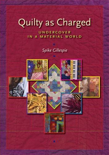 Quilty as Charged: Undercover in a Material - Spike Kostüm