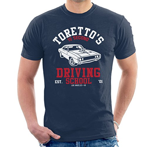 Fast and The Furious Torettos Driving School Men's T-Shirt