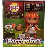 Barriguitas - Va a la hamburguesería, playset (Famosa 700012093)