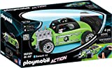 Playmobil- Voiture de Course Verte radiocommandée, 9091