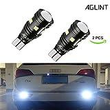 AGLINT 2PCS hohes helles Parken-Licht 912 921 W16W T15 3030 Birnen für Auto LED Backup Rückfahrlicht Xenon-Weiß