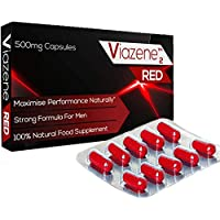 Viazene RED Natural Amplifier for Performance, Energy, and Endurance