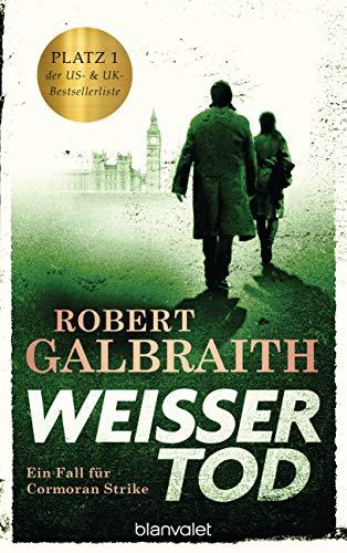 Buchseite und Rezensionen zu 'Weißer Tod' von Robert Galbraith