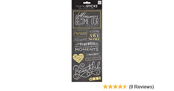 10//pkg Me /& My Big Ideas Specialty Stickers-we Laugh Chalk