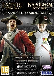Total War : Empire + Total War : Napolean - édition jeu de l'année [import anglais] (B0041G5SD8) | Amazon Products