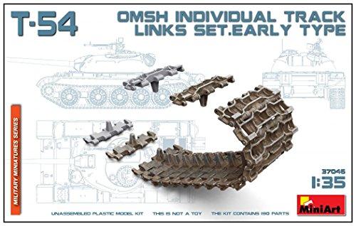 Unbekannt MiniArt 37046 Modellbausatz T-54 OMSh Individual Track Links Early Type Set