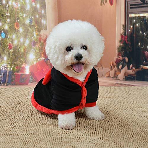 Halloween-Hunde-Kostüm aus Baumwolle mit Kapuze, Haustierkleidung, Fashion Raytheon, Cosplay-Anzug, Polyesterkostüm, süße Urlaubsdekoration, Haustier, Katze, Welpen, Mantel