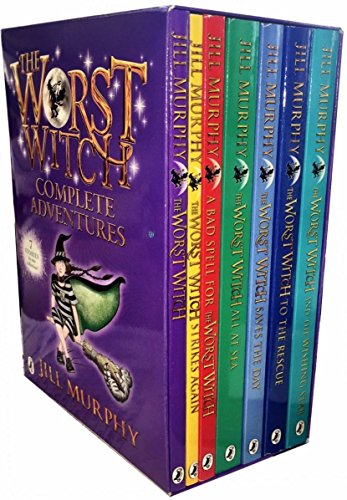 The Worst Witch Complete Adventures 7 books box set by Jill Murphy (2016-11-09)