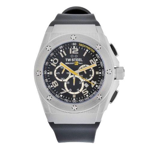 TW Steel Herren-Armbanduhr XL Chronograph Kautschuk TW-681
