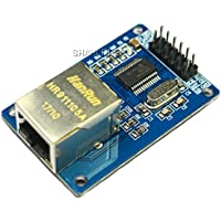SHAHIDEER Módulos de Red Inalámbrica Módulo de Red Ethernet LAN ENC28J60 para Arduino SPI AVR PIC
