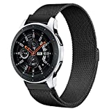 TRUMiRR Galaxy Watch 46mm Cinturino, 22mm Milanese Loop Cinturino Cinturino con Serratura Magnetica per Samsung Galaxy Watch 46mm, Gear S3 Frontier Classic
