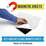 MFM Toys Self Adhesive Flexible Magnetic Sheet 300x300x0.5mm (10 Sheets)