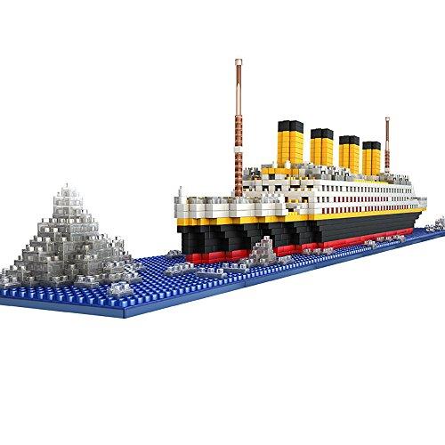 Das Titanic Modell Micro Block Bau Set - NanoBlocks Micro Diamond DIY Pädagogik