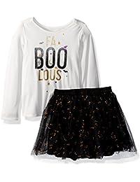 The Childrens Place Baby Girls Halloween Skirt Set