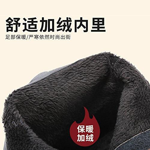FLYRCX Autunno Inverno retrò cashmere e dense e calde e antiscivolo lady Ma Dingxue B