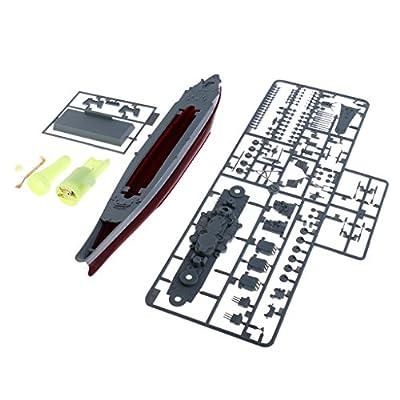 Baoblaze 30cm Modellbau Bausatz Kriegsschiff Schlachtschiff 1:700 von Baoblaze
