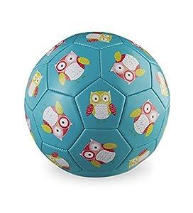 """Crocodile Creek niños búho de balón de fútbol, Color Teal, tamaño 2/5.5"""""""