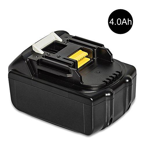 Akku 18v Makita Bl1830 (LiBatter BL1840 18V 4.0Ah Ersatzbatterien für Makita Werkzeugakku ErsatzAkku für Makita Akku BL1860 BL1850 BL1840 BL1830 BL1820 BL1815 BL1825 BL1835 BL1845 194204-5 5 LXT400 Li-Ion)