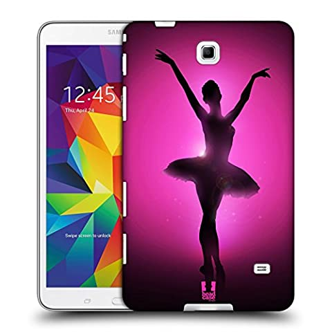 Head Case Designs Graceful Ballerina Silhouette Performers Hard Back Case for Samsung Galaxy Tab 4 8.0
