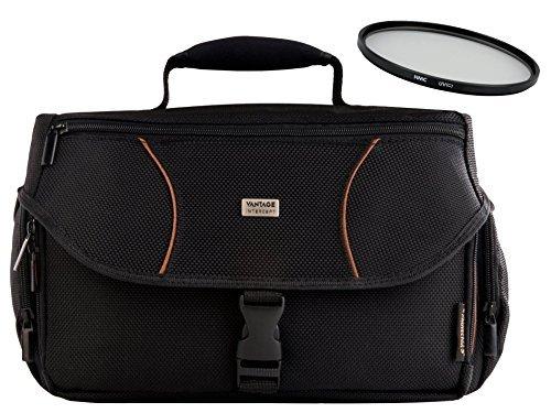Foto Kamera Tasche Ultra 11 OUTDOOR mit UV Filter 55mm für Sony Alpha 7 R II B mit 28-70mm KB