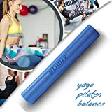 POWRX Yoga-Rolle Eps Material / Pilates-Rolle / Schaumstoff-Rolle / Foam-Roller Faszienrolle (90 x 15 cm) - 8