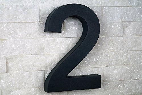 Hausnummer Edelstahl Nr.3 New-Design in 3D V2A // weitere im Shop ! H20cm