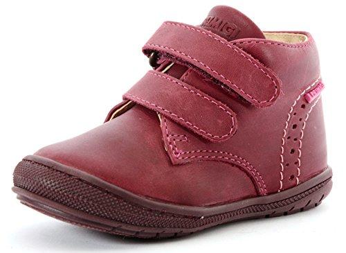 67731042d69d0 Primigi Chaussures Premiers Pas Pour Bébé (Fille) Rouge Amaranto - Rouge -  Amaranto