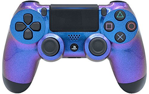 Chameleon Face PlayStation 4 V2 (new version) Rapid Fire Modded Controller for COD Black Ops3, Infinity Warfare, AW, Destiny, Battlefield: Quick Scope, Drop Shot, Auto Run, Sniped Breath, Mimic, More (Cod Aw Modded Controller)