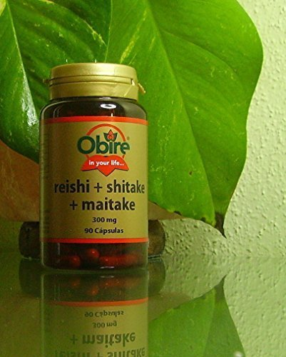 Foto de Reishi, Shitake, Maitake 90 cápsulas de Obire