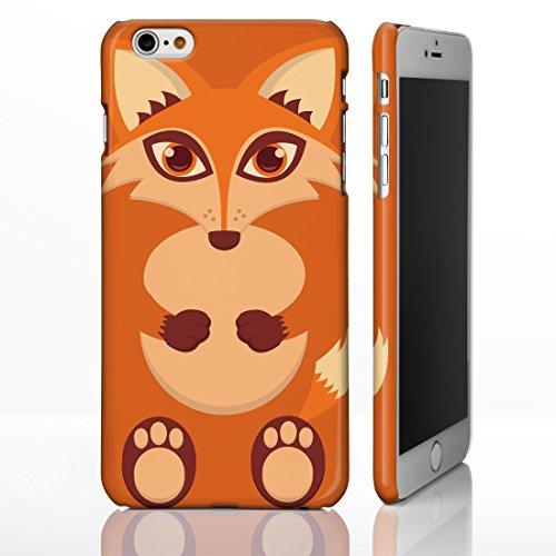 Cute Animal Fällen für das iPhone Range. unwiderstehliche Creature Cartoon Bezüge, plastik, 8. Fox, iPhone 5/5S (Furry-fälle Für Iphone 4)