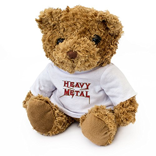 NEW Cute Heavy Metal Teddy Bear