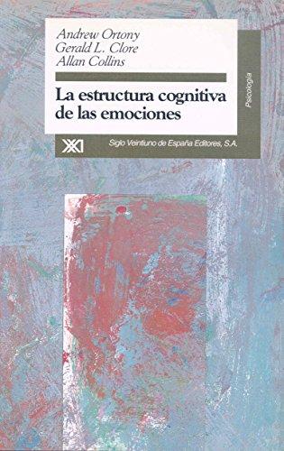 Portada del libro La estructura cognitiva de las emociones (Psicología)