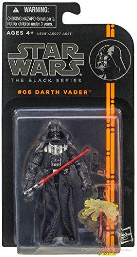 DISNEY STAR WARS The Black Series Basic Action-Figur DARTH VADER (# 06) - the evil Sith Lord Vader! (Darth Vader Action-figur)