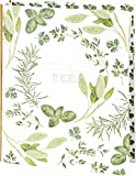 Rezept Scrapbook–Garden Herbs Design–Rezept Organizer Scrapbook