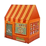 SAsagi Simulierte Shop Tuch kinderspielhaus,Große pop-up-Faltbare Kinder Zelt innen- & Prinzessin Spielzeug Burg Jungen und mädchen-B