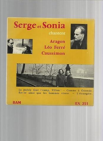 Serge et Sonia chantent Aragon, Léo Ferré, Caussimon