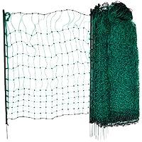 Kerbl Filet Simple Pointe pour Élevage Volaille Vert 50 m x 112 cm