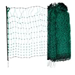 Kerbl Unisex's TR-CRL0765 Poultry Netting Non-electrifiable Single Prong, Clear, 112 cm x 50 m 5