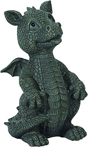 Figure de jardin Dragon regarde vers le haut