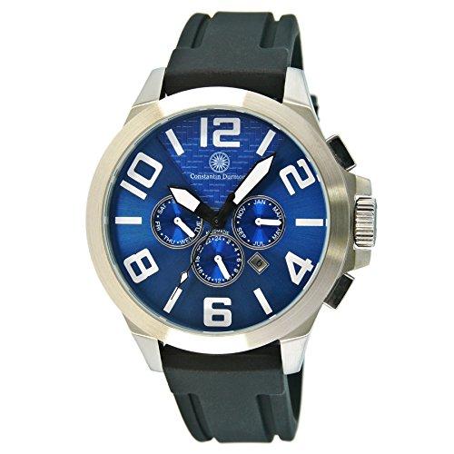Constantin Durmont hombre-reloj analógico caucho halo automáticolink CD-HAL2AODASH@DASHAORBSTSTBL