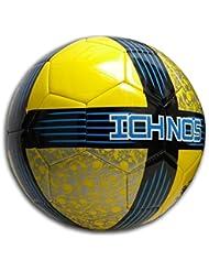 Ichnos Koru Nuit ballon foot officiel taille 5 (jaune - bleu - noir)
