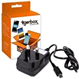 Tigerbox® Micro USB UK Mains Wall Charger For The Doro Phoneeasy Mobile Phone Range