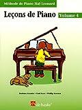 Leçons de piano: Book 4