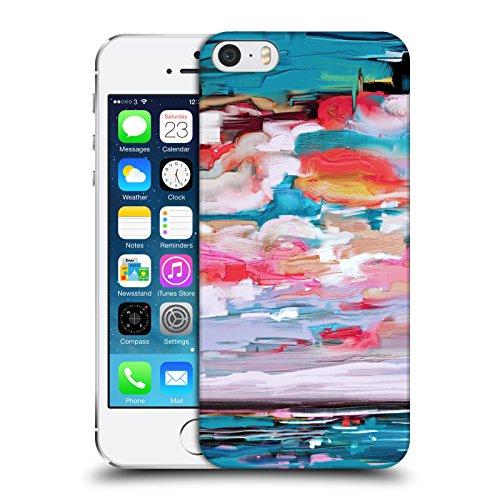 Offizielle Giulio Rossi Pinsel Striche Kollektion Ruckseite Hülle für Apple iPhone 6 / 6s See Und Himmel
